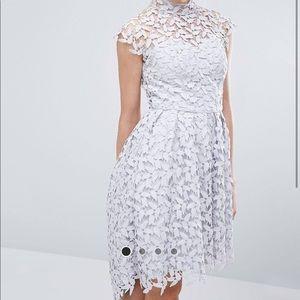 CHI CHI London Asos petal lace dress